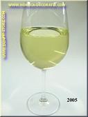 Glas Witte Wijn in glas met lange voet - Attrappe
