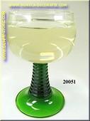 Glas Witte wijn in laag glas - dummy