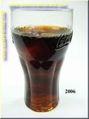 Glas Cola met ijs - namaak