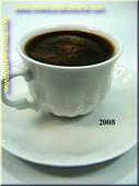 Kop zwarte Koffie - namaak
