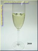Glas Sekt - Attrappe
