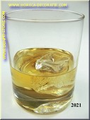 Glas Whisky on the Rocks - namaak
