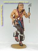 Indianer Kriegstänzer, Höhe: 1,75 Meter
