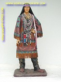 Indianen vrouw, hoogte: 1,70 meter