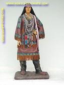 Woman Indian, h: 1,70 meter