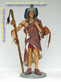 Indiaanse medicijnman, hoogte: 2,02 meter