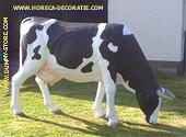 Koe grazend, Hoogte:1,49, Breedte: 0,55, Lengte: 2,11 meter.