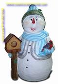 Sneeuwman, 1,80 mtr
