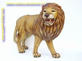 Leeuw, grommend, L: 1,20, H: 1,15, B: 0,60 mtr