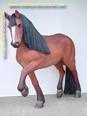 Paard, hoogte: 1,83 mtr, Lengte: 2,16 mtr
