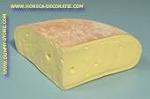 Kaas, kwart stuk - Attrappe
