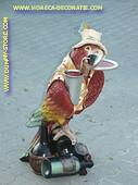 Papagaai-Butler, hoogte: 0,96 meter