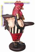 Rooster butler, h: 0,56 meter