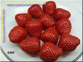 Aardbeien, HALVE, zonder spin, 12 stuks