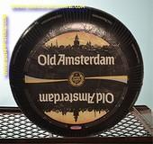 Old Amsterdam Goudse hele kaas (met opdruk - gebruikt)