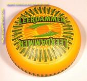 Leerdammer Goudse hele kaas (met opdruk - gebruikt)