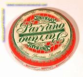 Parrano Uniekaas Goudse hele kaas (met opdruk - gebruikt)
