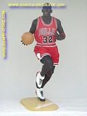 Basketball speler, hoogte: 2,05 meter