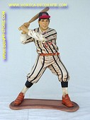 Baseball player, h: 1,01 meter