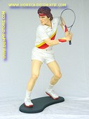 Tennis player, h: 1,85 meter