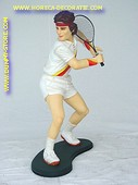 Tennis player, h: 0,95 meter