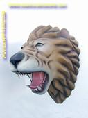 Leeuw (kop) 0,87 meter