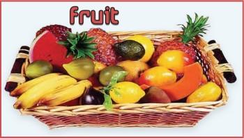 Fruit Decoraties